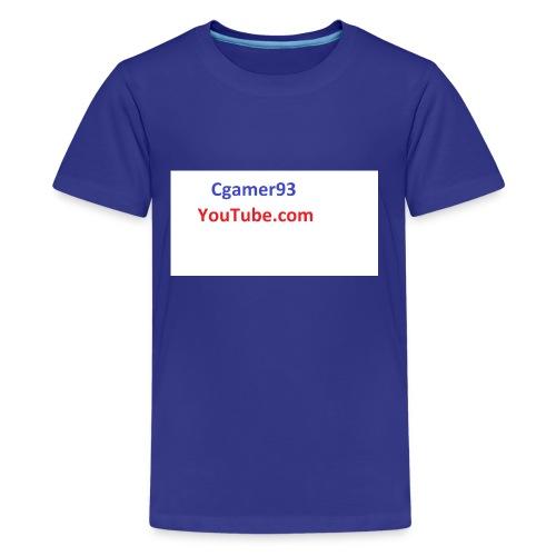 Cgamer93 long sleeve shirt man - Kids' Premium T-Shirt