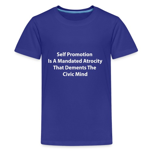 A Discourse On Self, Part 2 - Kids' Premium T-Shirt