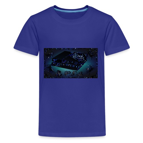 ps4 back grownd - Kids' Premium T-Shirt