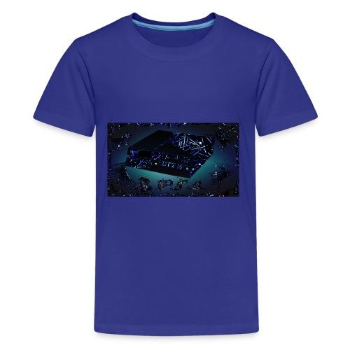 ps4 back grownd - Kids' Premium T-Shirt
