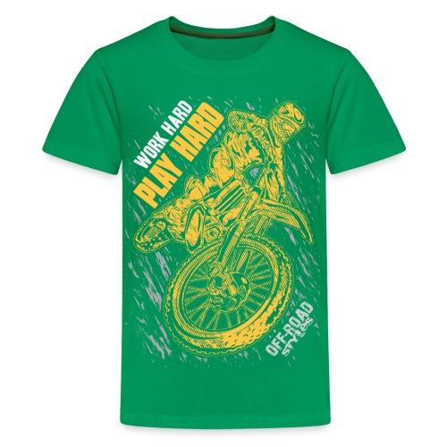 MX Play Hard Orange - Kids' Premium T-Shirt