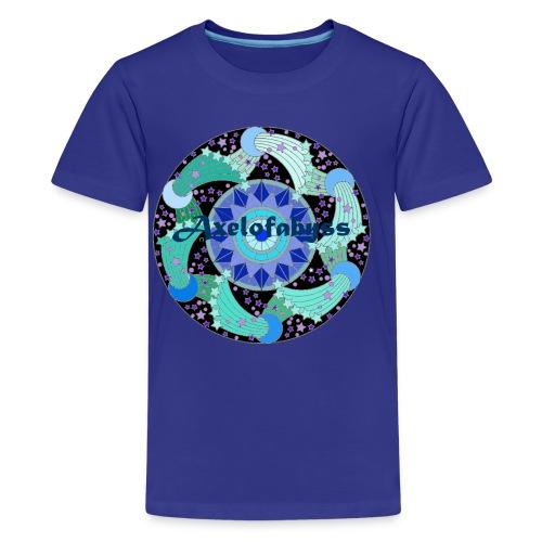 Axelofabyss The Ocean Moon - Kids' Premium T-Shirt