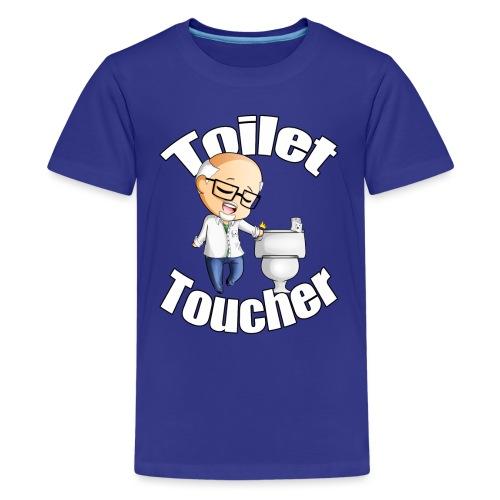 toilet toucher png - Kids' Premium T-Shirt