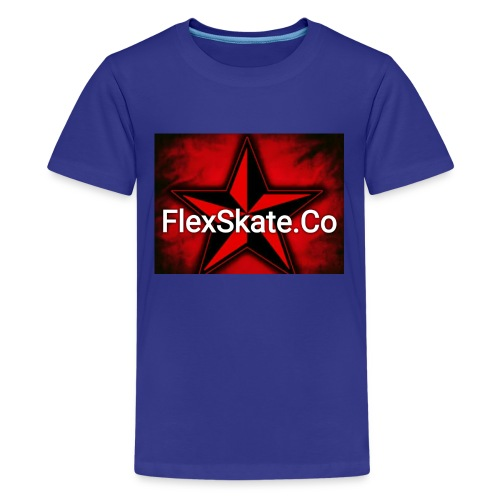 FlexSkate.Co Logo #3 - Kids' Premium T-Shirt