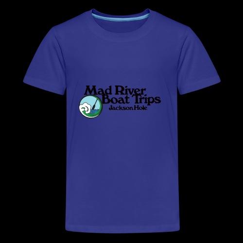 MR RETRO LOGO FULL STACKED - Kids' Premium T-Shirt