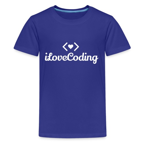 I Love Coding - Kids' Premium T-Shirt