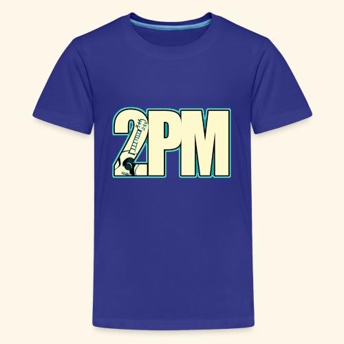 2PM Teal Guitar Logo - Kids' Premium T-Shirt