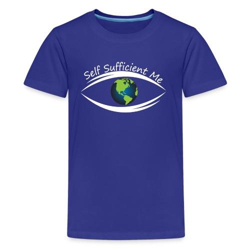 Self Sufficient Me Logo Large - Kids' Premium T-Shirt