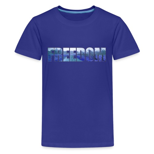 Freedom Photography Style - Kids' Premium T-Shirt