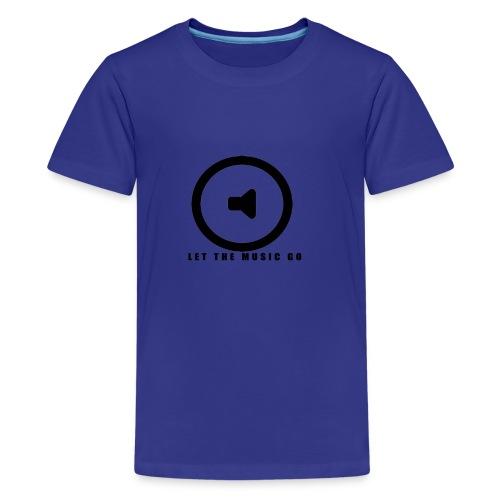 Let the music go - Kids' Premium T-Shirt