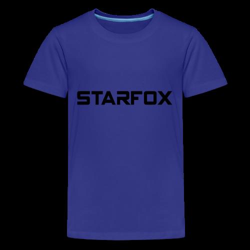 STARFOX Text - Kids' Premium T-Shirt