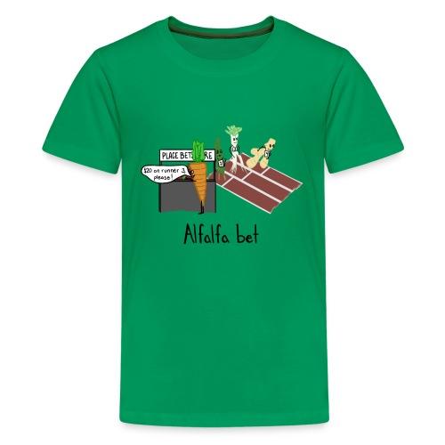Alfalfa Bet - Kids' Premium T-Shirt