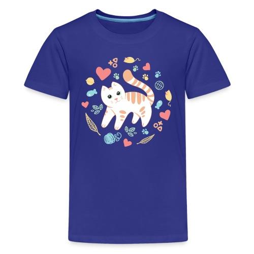 Kitty s Favorite Things - Kids' Premium T-Shirt