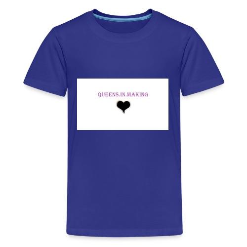 Queens.in.making - Kids' Premium T-Shirt