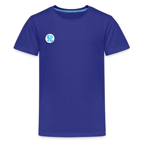 Supreme Chaotic circle logo - Kids' Premium T-Shirt