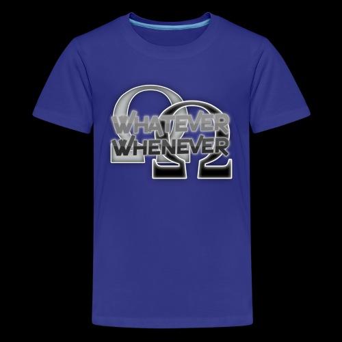 RalDal: Whatever Whenever Print - Kids' Premium T-Shirt