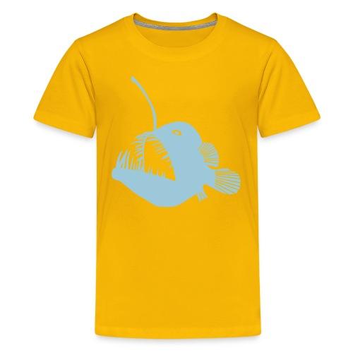 anglerfish frogfish sea devil deep sea angler - Kids' Premium T-Shirt