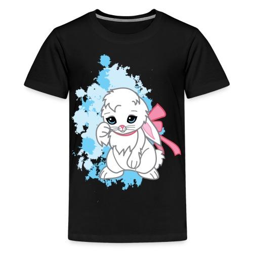 Adorable Kawaii Snowball the Bunny Women's Tee - Kids' Premium T-Shirt