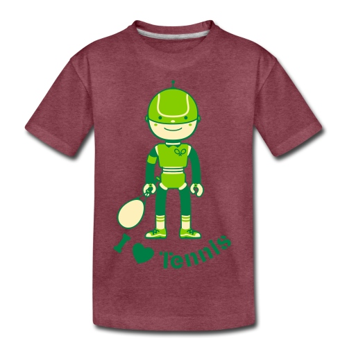 Tennis - Kids' Premium T-Shirt