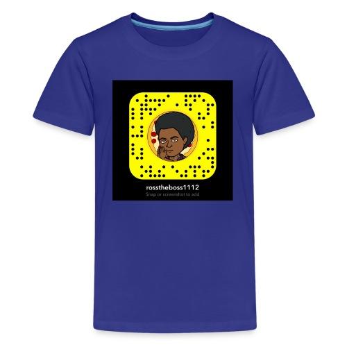 Snap code hoodie - Kids' Premium T-Shirt