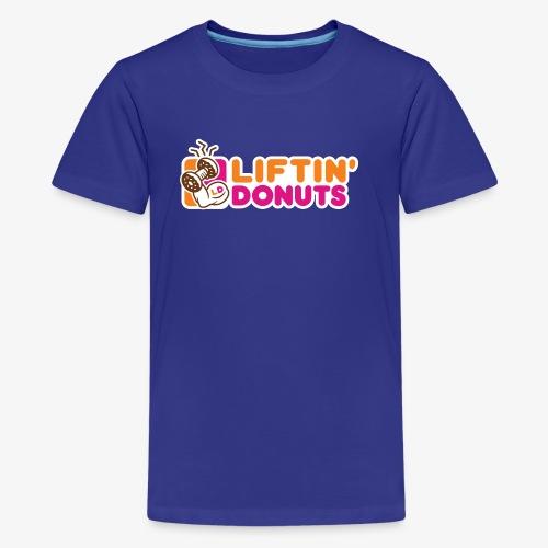 Liftin' Donuts - Kids' Premium T-Shirt