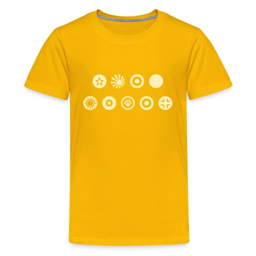 Axis & Allies Country Symbols - One Color - Kids' Premium T-Shirt