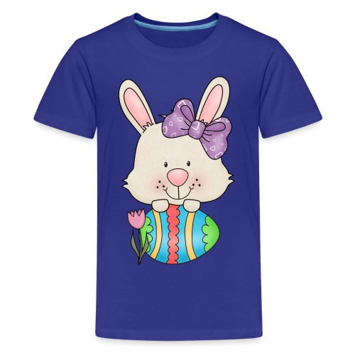 Easter Egg Bunny 3 png - Kids' Premium T-Shirt