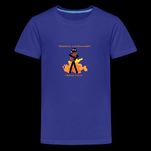 Stupid Zenra Quote - Kids' Premium T-Shirt