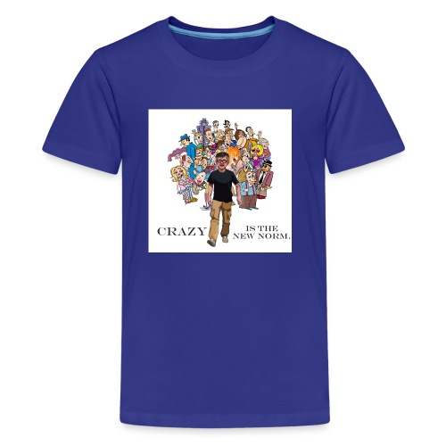 Crazy Is v2 - Kids' Premium T-Shirt
