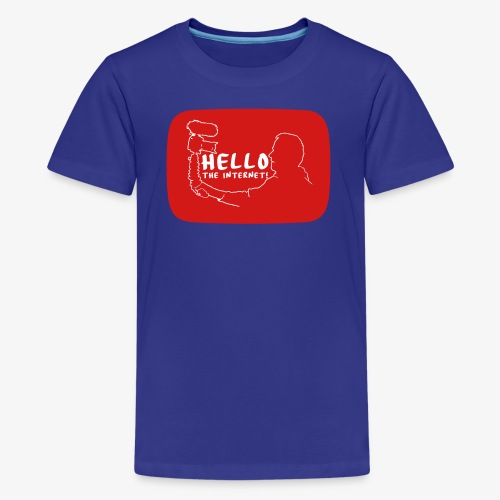 HELLO THE INTERNET! - Kids' Premium T-Shirt