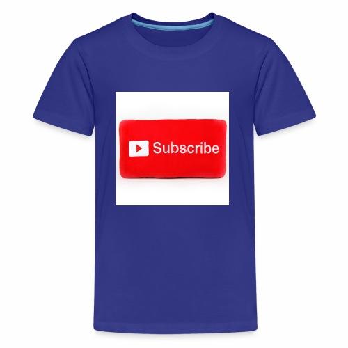 Subscribe T=shirts - Kids' Premium T-Shirt