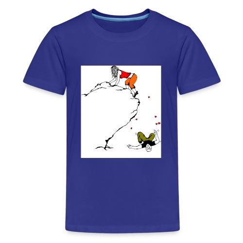 Lady Climber - Kids' Premium T-Shirt