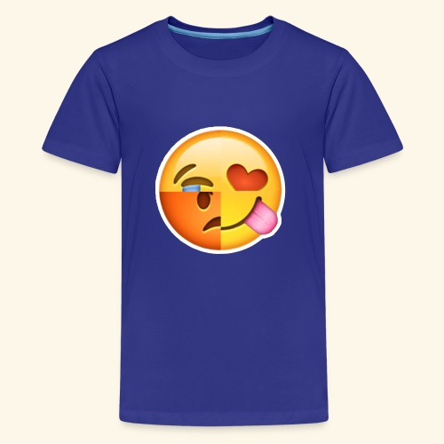 E Tees , Unique , Love , Cry, angry - Kids' Premium T-Shirt