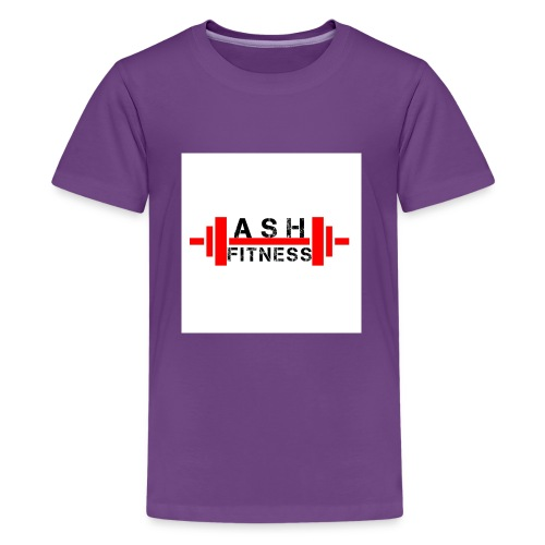 ASH FITNESS MUSCLE ACCESSORIES - Kids' Premium T-Shirt
