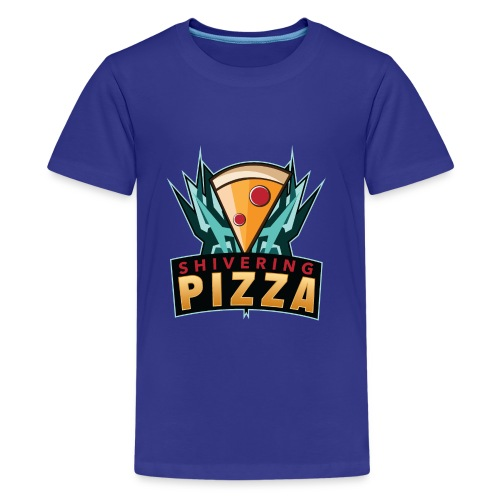 Shiveringpizza Logo - Kids' Premium T-Shirt
