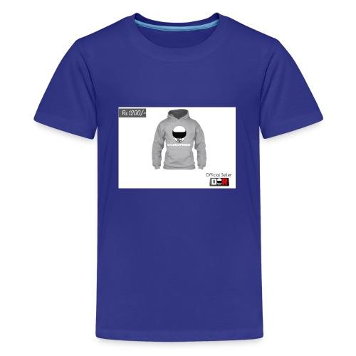 Winter Hoodie by DoseOfRide   Rs.1200/- - Kids' Premium T-Shirt