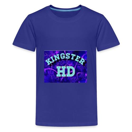 Kingsterhd poster t-shirt - Kids' Premium T-Shirt