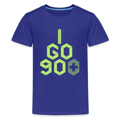 I Go 90+ - Kids' Premium T-Shirt