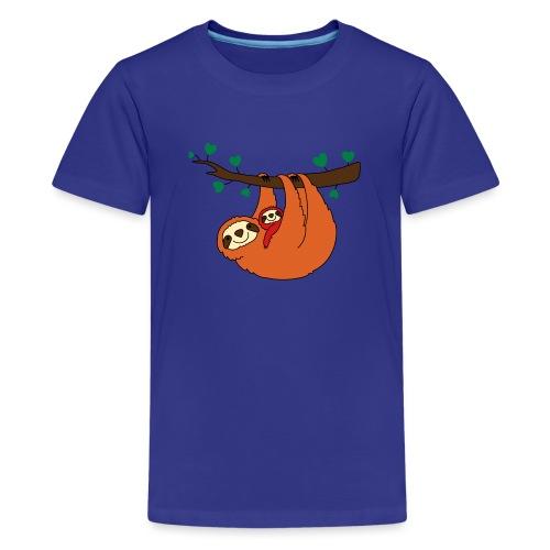 Sloth Love - Kids' Premium T-Shirt