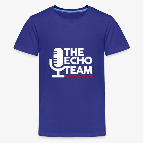 Echo Team Logo White Letters - Kids' Premium T-Shirt