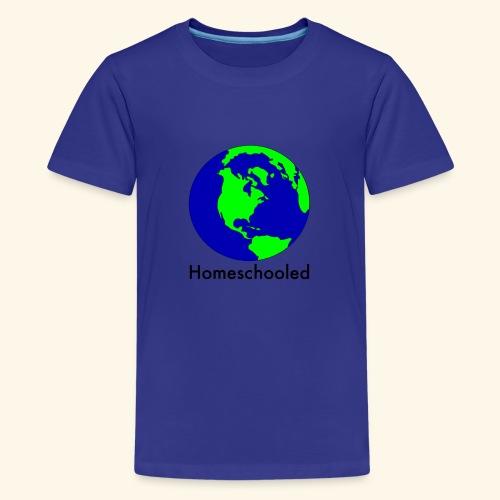 Homeschooled World - Kids' Premium T-Shirt