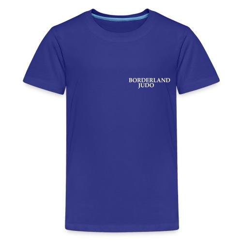 Borderland Judo - Simple - Kids' Premium T-Shirt