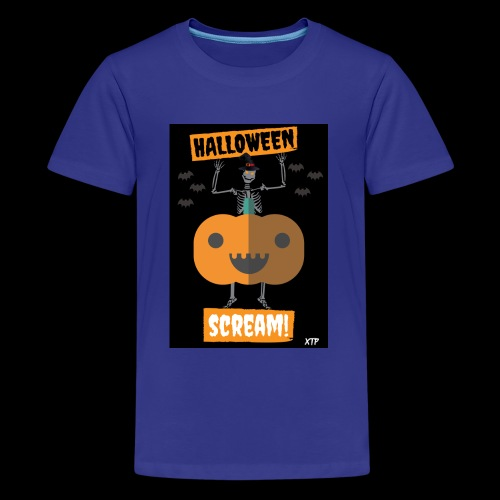 Halloween night - Kids' Premium T-Shirt