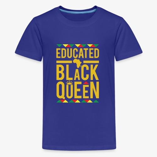 Educated Black Queen - Kids' Premium T-Shirt