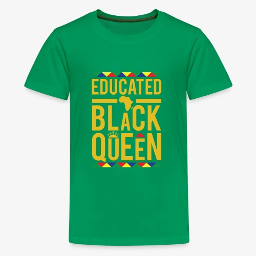 Educated Black Queen - Kids' Premium T-Shirt