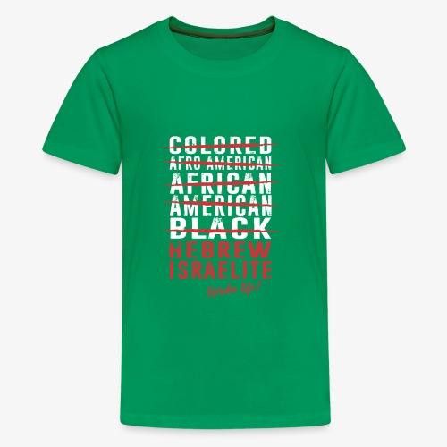 Hebrew Israelite - Kids' Premium T-Shirt