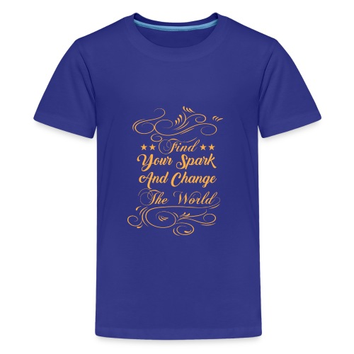 change the world - Kids' Premium T-Shirt