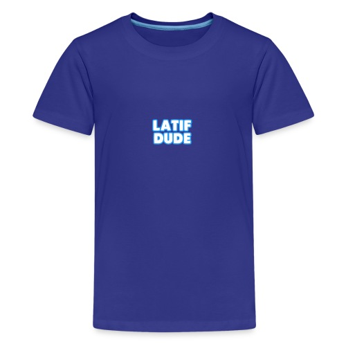 LATIF DUDE SHIRT - Kids' Premium T-Shirt