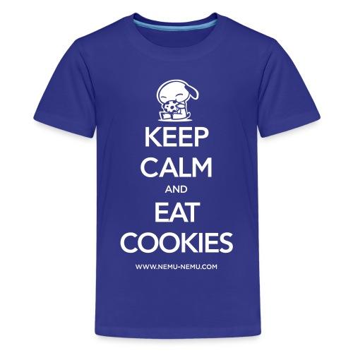 Eat Cookies - Kids' Premium T-Shirt