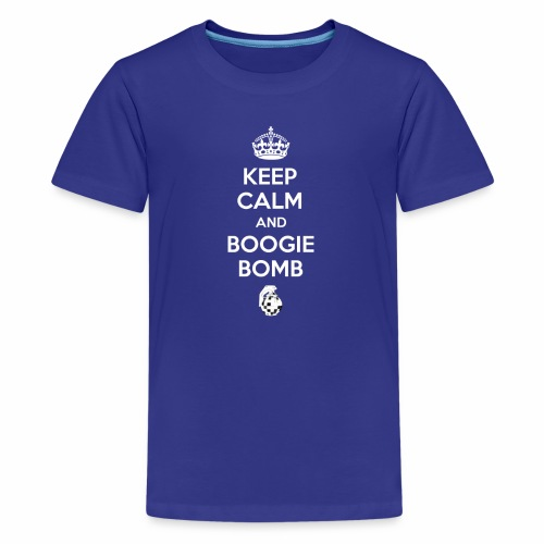 Keep Calm and Boogie Bomb (Fort-nite Inspired) - Kids' Premium T-Shirt